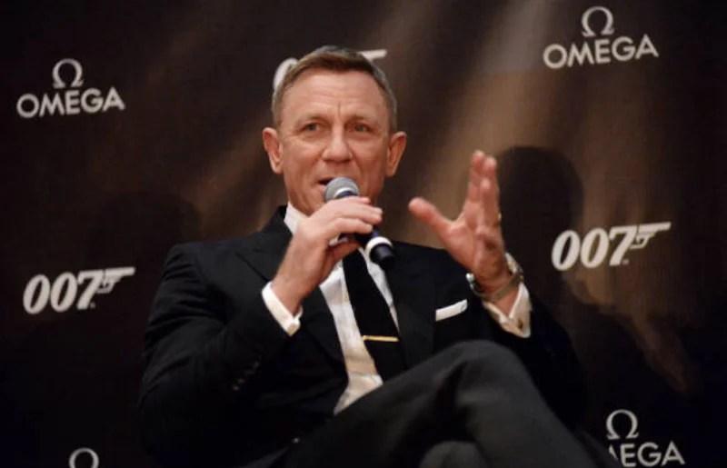 Daniel Craig at Omega Bond Watch Unveiling