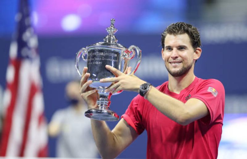 Dominic Thiem at 2020 US Open - Day 14