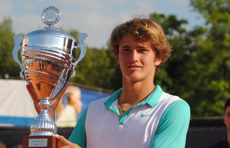 Alexander Zverev at Heilbronn
