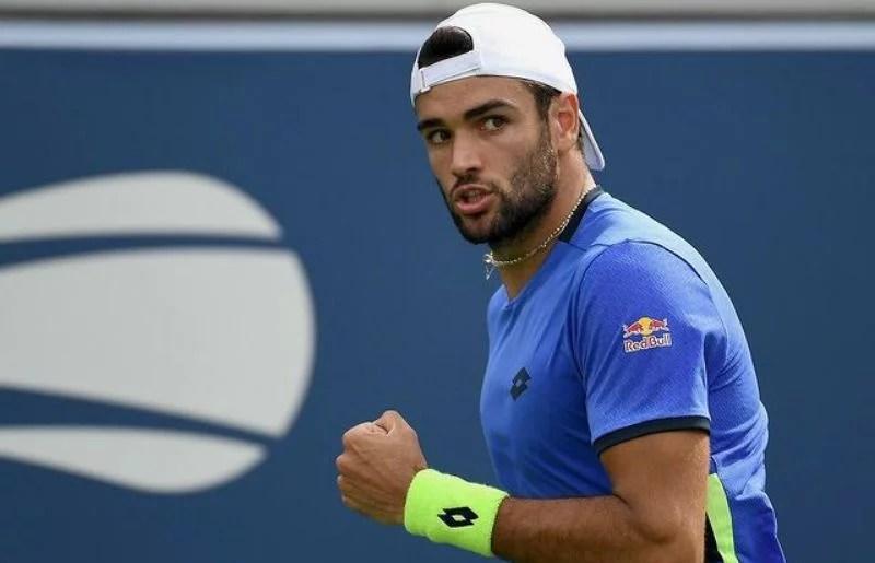 Matteo Berrettini at US Open Tennis Championships