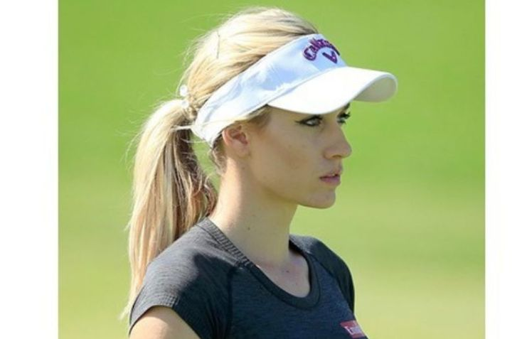 Paige Spiranac at The game face.