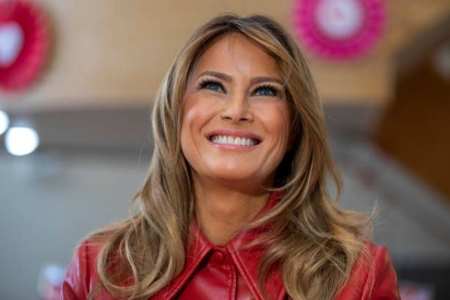 Melania Trump  Visits Children's Inn