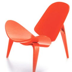 3 Legged Chair Best Office After Back Surgery Vitra Miniature 4 75 Inch By Hans J Wegner Stardust