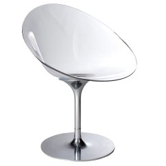 White Shell Chair Childrens School Chairs Eros Swivel | Stardust