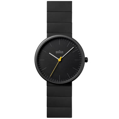 braun kitchen appliances cabinets lights bn0171 modern black ceramic unisex analog watch ...