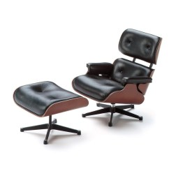 Office Chair Ottoman Warmer Vitra Miniature 5 Inch Eames Lounge And Stardust