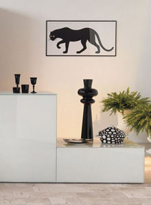 Panthera Poster by Enzo Mari Home  Decor