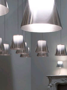 kitchen ceiling fans with lights outdoor kitchens kits flos ktribe s1 - 9.3