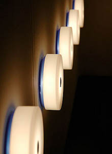 Flos Mini Button Ceiling or Round Wall Light 551 DIA