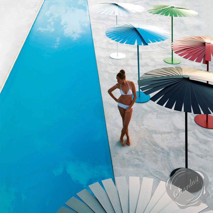 Ensombra 6ft Outdoor Patio Umbrella wFolding Gandia