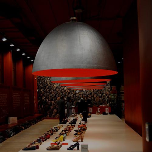 XXL Dome Pendant Lamp  Ingo Maurer XXL Dome Lamp  Stardust