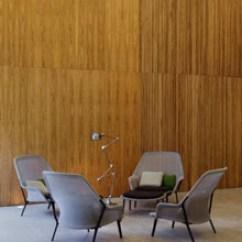 Sofa Floor Lamp Antique French Uk Slow Modern Living Room Chair - Black Vitra