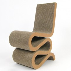 Frank Gehry Chair Retro Kids Wiggle S Masterpiece Cardboard Vitra Side By