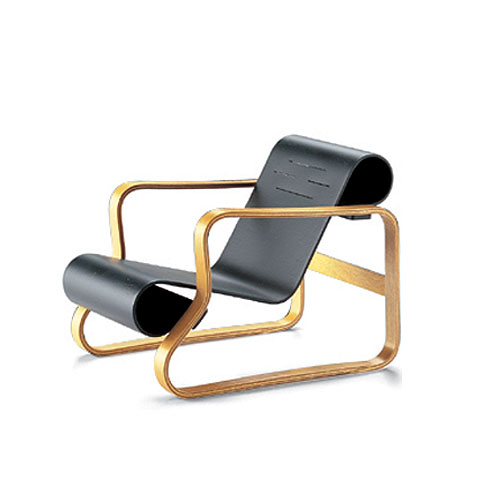 Vitra Miniature Art 41 Paimio Chair by Alvar Aalto  Stardust