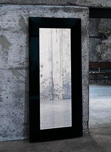 Glas Italia Aura Modern Wall or Standing Mirror by Ricardo Dalisi  Stardust