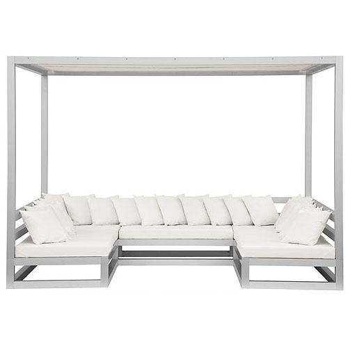 Gandia Blasco Pergola Sofa Modern Outdoor GazeboCabana
