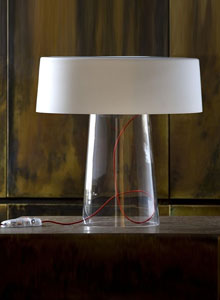 Prandina Glam T1 Modern Table Lamp by Luc Ramael  Stardust