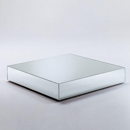 glas italia i massi mirrored glass coffee table