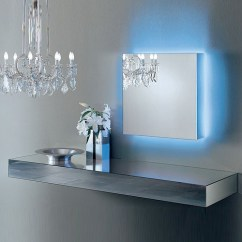 Kitchen Furniture For Small Counter Height Chairs Glas Italia I Massi Mirrored Wall Mounted Shelf By Claudio ...
