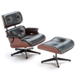 Chair With Ottoman Professional Massage For Sale Vitra Miniature 5 Inch Eames Lounge And Stardust