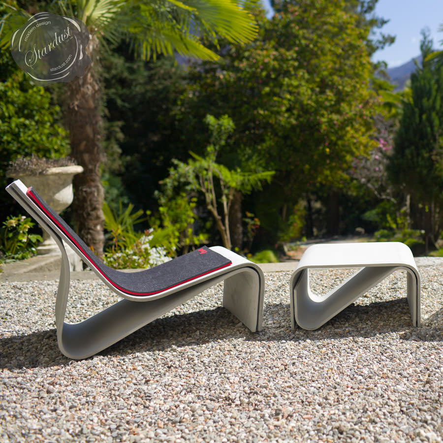 sponeck chair modern concrete architectural design garden chair stardust