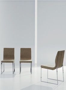 modern chair design dining resin folding chairs bonaldo raja by mario mazzer stardust