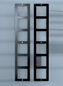Glas Italia On Air Porta DVD Modern Wall Mounted Shelf