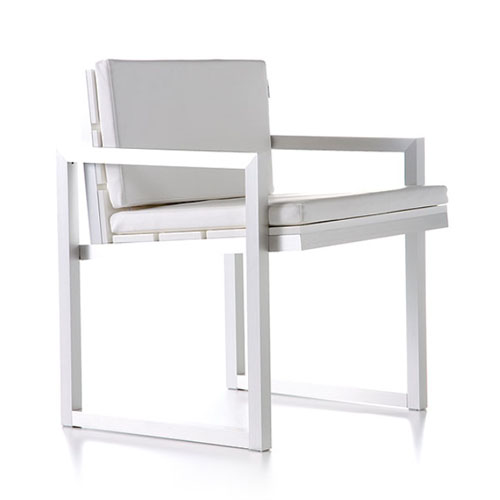 Gandia Blasco Saler Silla Modern Outdoor Dining Chair