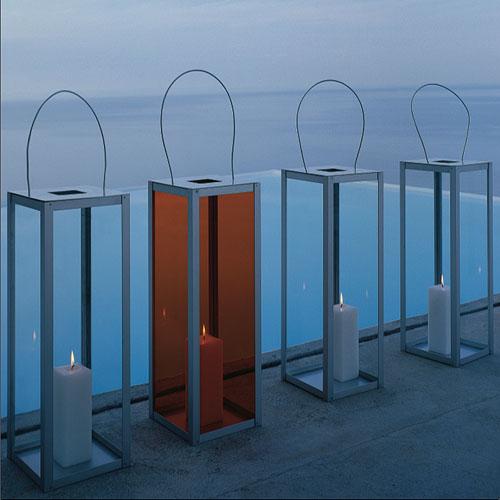 Gandia Blasco Farol Vertical Modern Outdoor Lantern Lamp  Stardust