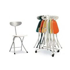 Gray Kitchen Chairs Remodeling Charlotte Nc Bonaldo Piu Modern Folding Chair By Chiaramonte And Marin ...