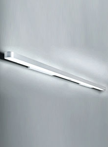 grey kitchen rugs furniture stores artemide talo fluorescent wall strip light fixture | stardust