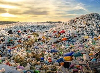 plastic piles