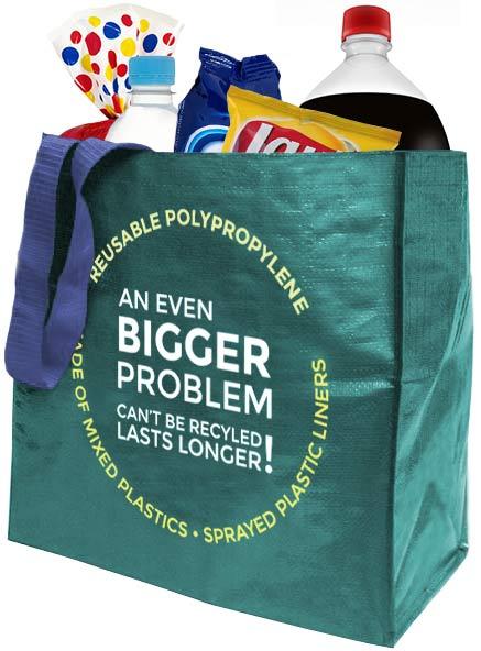 reusable polypropylene bag