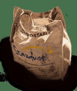 composting a stardust bag