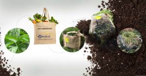 Slideshow - Lifecycle of a Stardust Compostable Bag