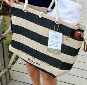 stardust sustainables compostable jute reusable beach bags