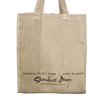 Stardust Signature Plain reusable compostable jute shopping grocery bag