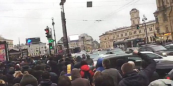 Proteste anti-Putin la Moscova. Aleksei Navalnîi a fost arestat