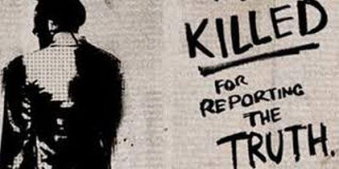 Jurnalişti asasinaţi