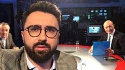 Ionuţ Cristache, moderatorul emisiunilor electorale de la TVR