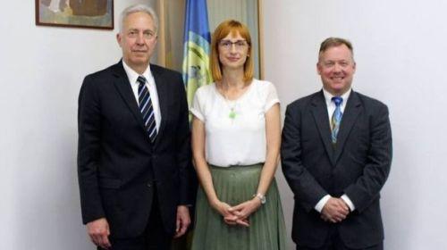 Anca Jurma (DNA) s-a întâlnit cu reprezentantul FBI şi cu ambasadorul Hans Klemm