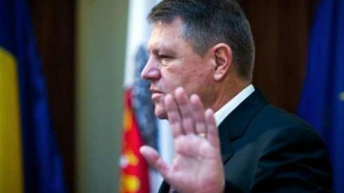 """Klaus Iohannis:""""Legea se aplică, se impune, nu se discută!"""""""