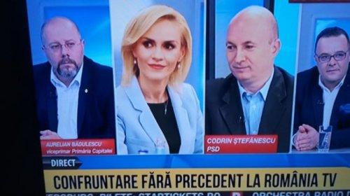 Codrin Ştefănescu şi Aurelian Bădulescu s-au porcăit ca la gura PSD