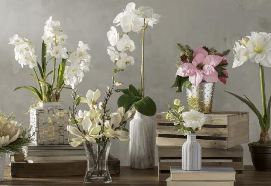 flori de plastic