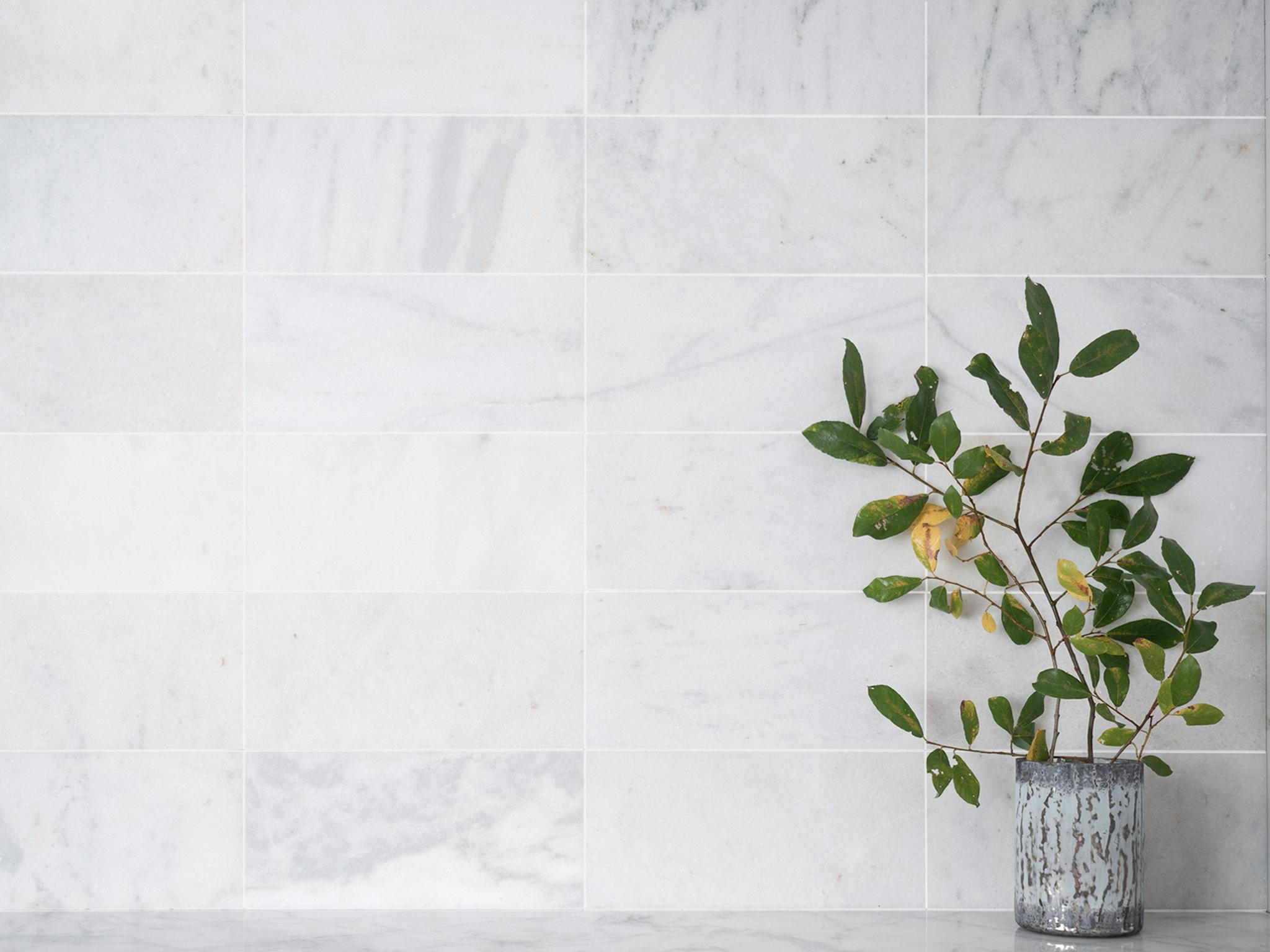 ibiza honed marble tiles