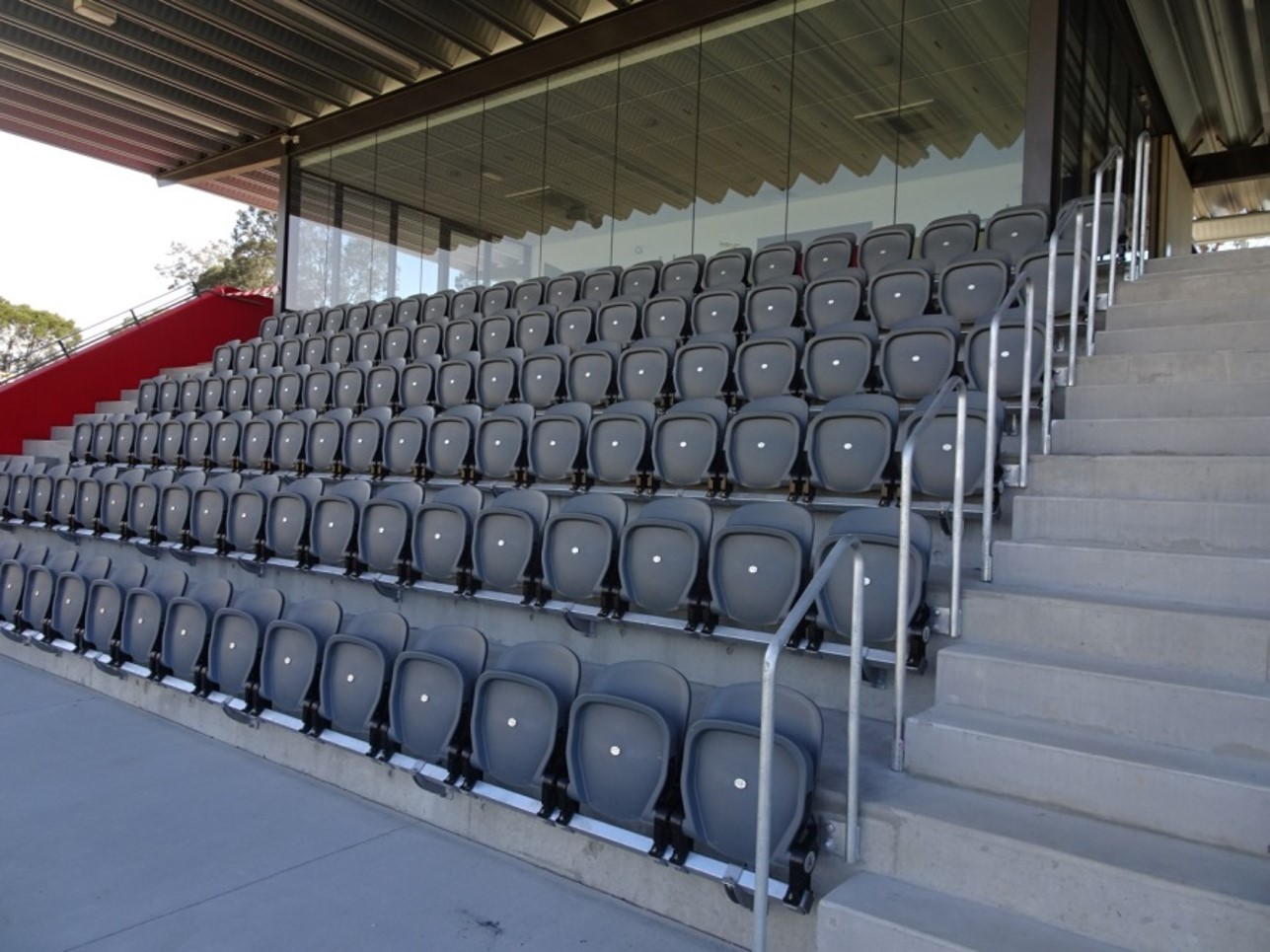 tamworth boston utd sofascore contemporary sofa tables with drawers featured project gallery stadium seating starena group