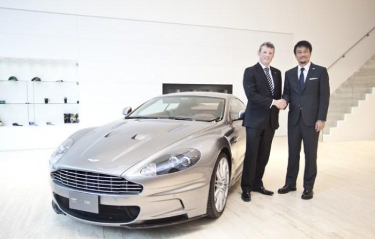 Aston Martin 台北展示暨服務中心開幕酒會