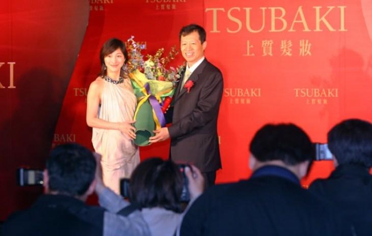 TSUBAKI 上質髮妝髮妝系列產品來台上市記者會