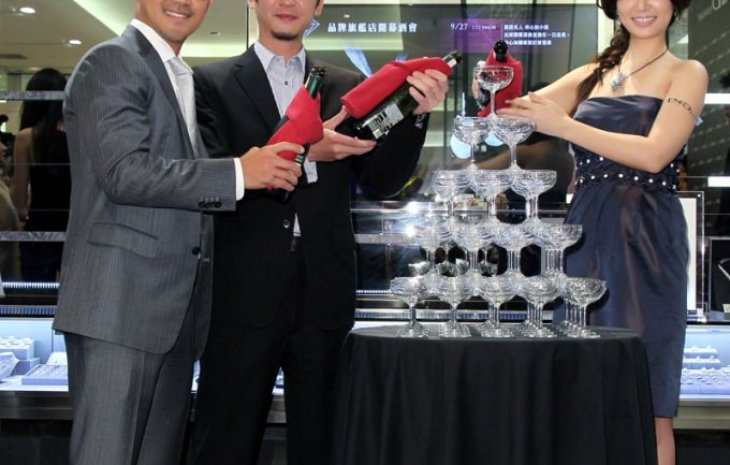 D&D Jewelry A8 品牌旗艦店開幕記者會