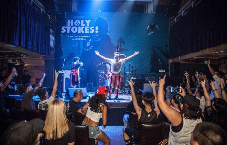 美國極限運動潮牌 VOLCOM《Holy Stokes!》滑板電影首映派對